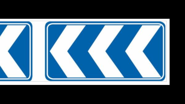线形诱导标志牌是指路标志还是指示标志?